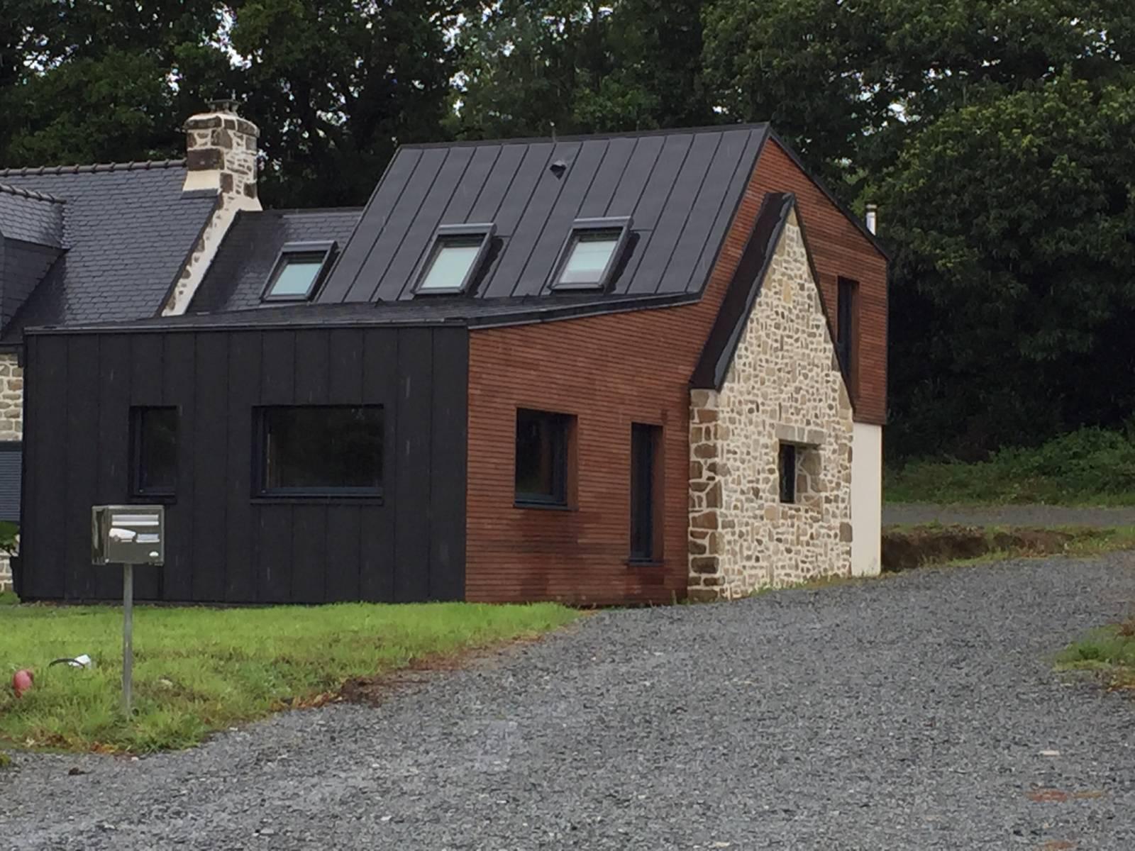 Maison en bois gironde ventana blog for Meison construction
