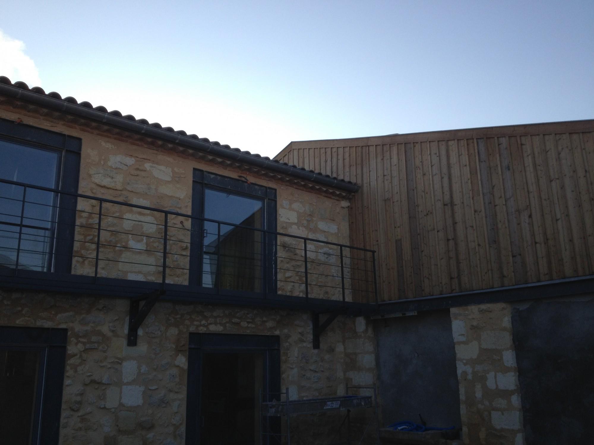 Surelevation Maison 33 extension et surelevation maison ossature bois bordeaux